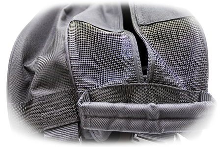 Xamsa Bag Ventilated compartment