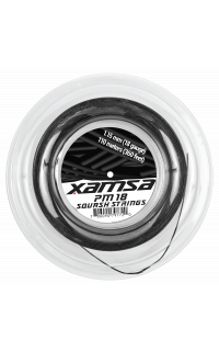 Xamsa PM 18 Squash Strings 110 m Reel Label