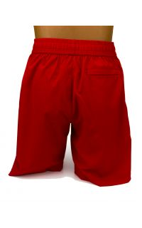 Every Moment Xamsa Shorts - Red - Back