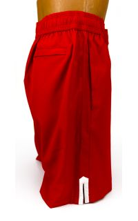 Every Moment Xamsa Shorts - Red - Side 2 View