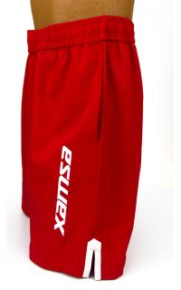 Every Moment Xamsa Shorts - Red - Side View