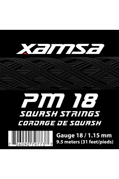 Xamsa PM 18 strings label