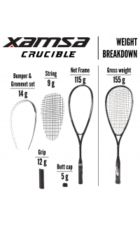 Xamsa Crucible Weight Breakdown