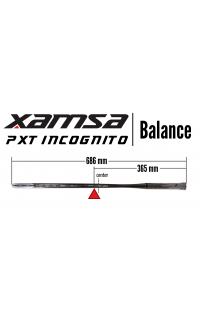 Xamsa PXT Incognito Squash Racquet  Balance