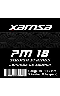 Xamsa PM 18 strings label